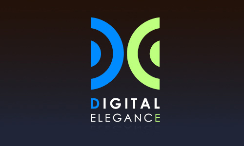 digital elegance project category logo design created for the digital ...