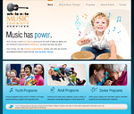 Whole Note Music Therapy Website