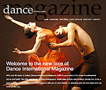 Dance International Magazine Website